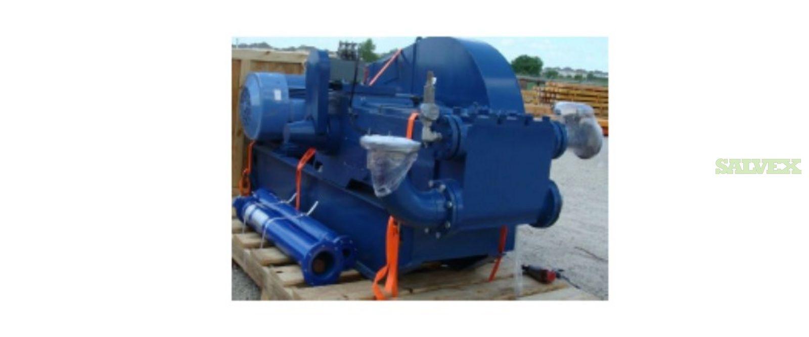Novomet Triplex Pump 165 5S NVT (4 Units)