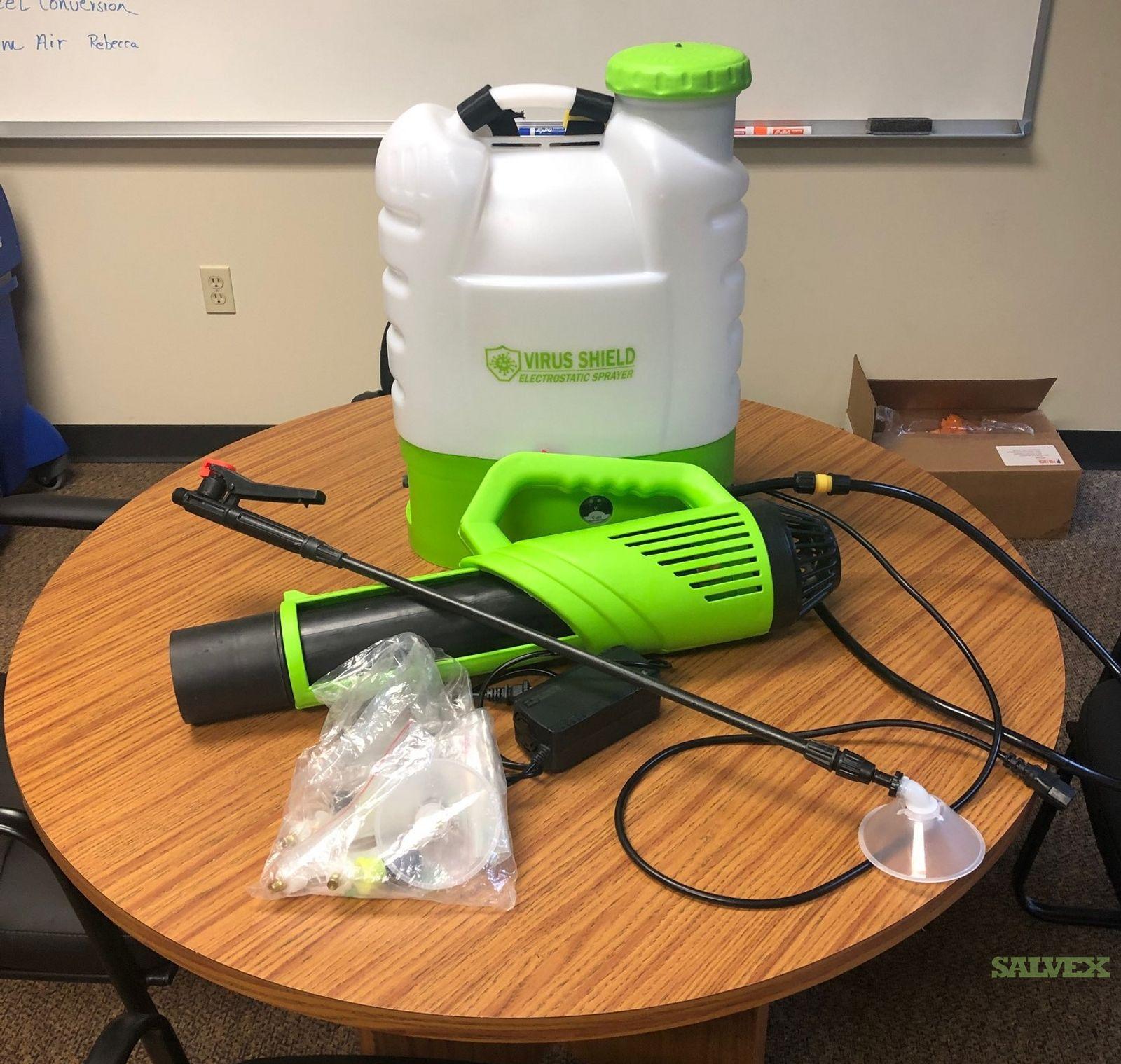 Electrostatic Sprayers  Uf-0016l-2 Air-fed  Multi-functional /16l Cordless Backpack Electrostatic Mist Sprayer  Portable Handle Fogger Machine Sprayer Ulv Fogger For Disinfection(Estimated 400 Units)