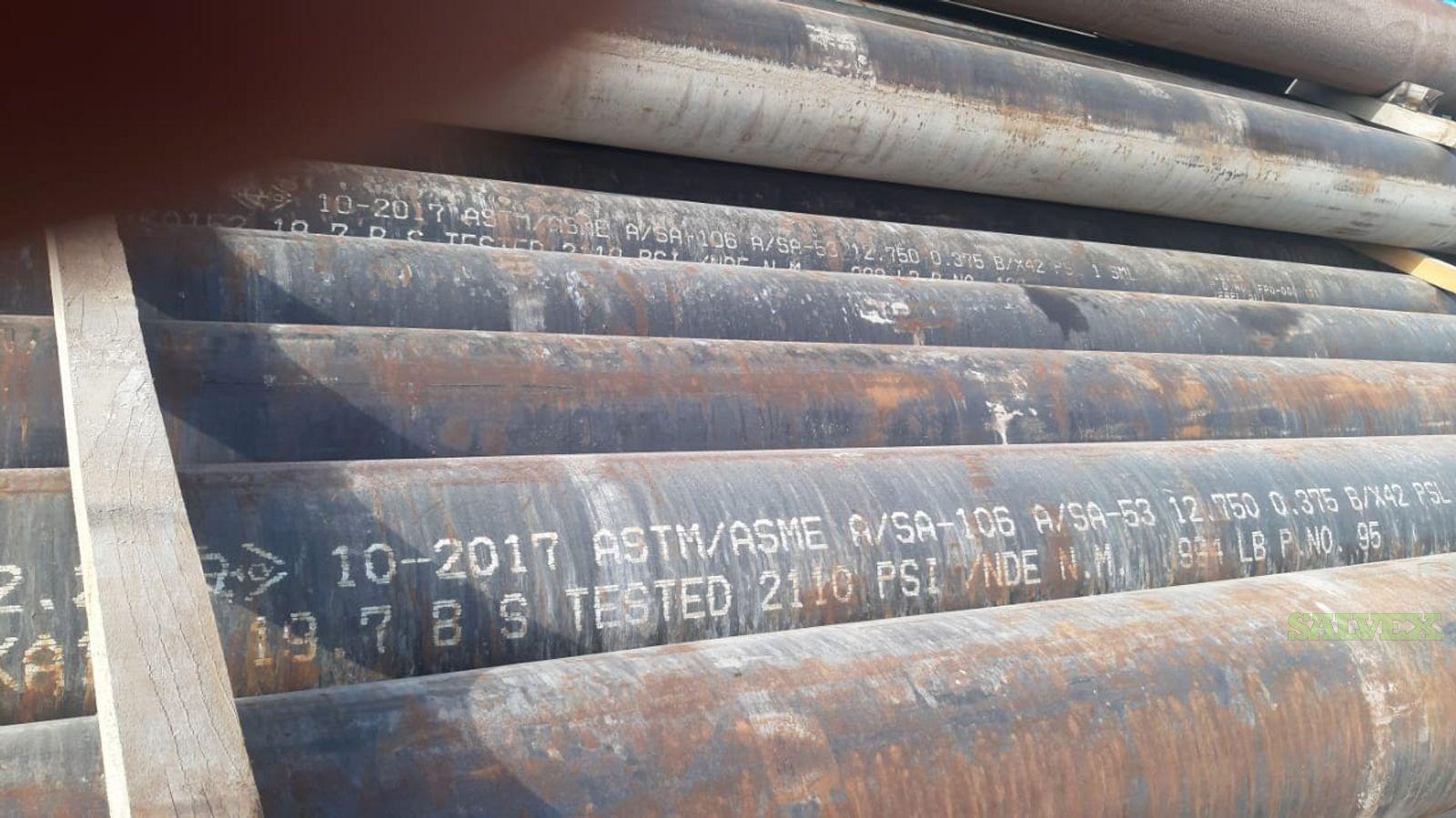 3/4 - 14 X42 SMLS Surplus Line Pipe (282 Metric Tons)