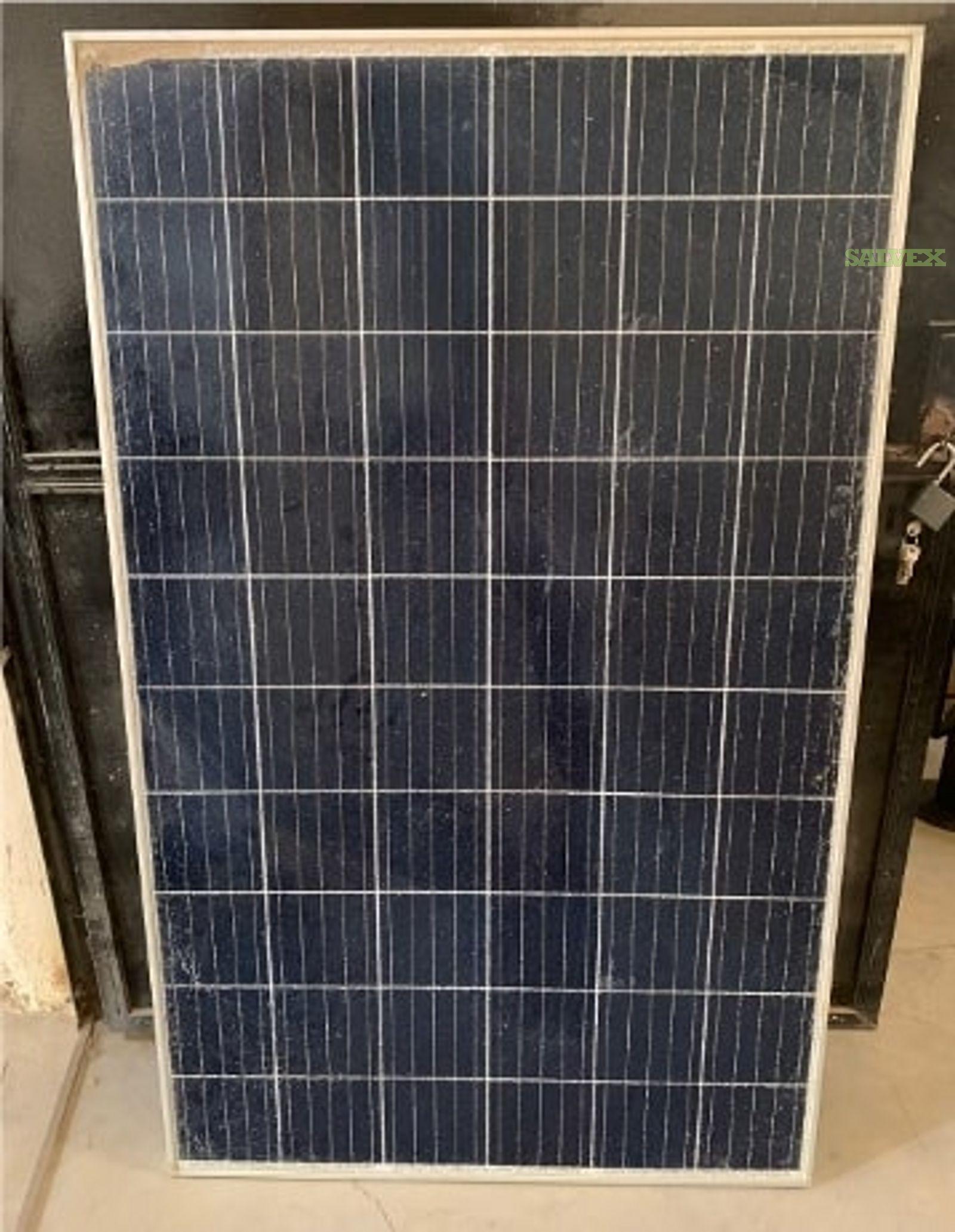 PV Panels, Solar Panels Street Light and Battery - Damaged (55 Units)