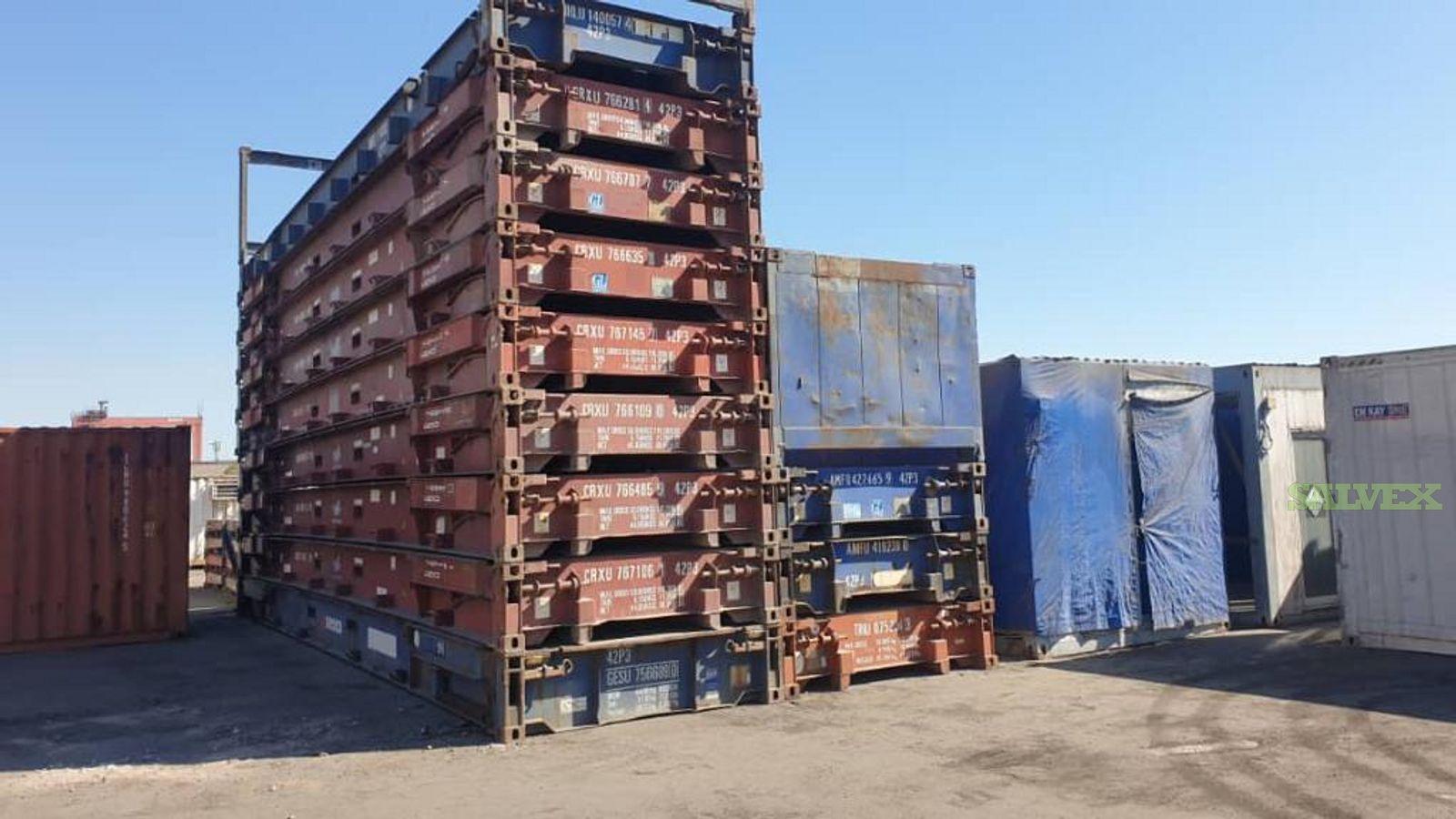 Flat Racks - Collapsible 40ft (28 Units)
