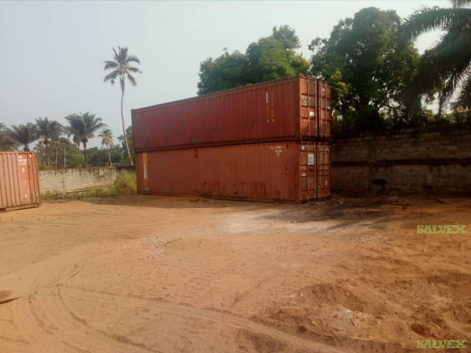40 FT Shipping Containers (6 Units)
