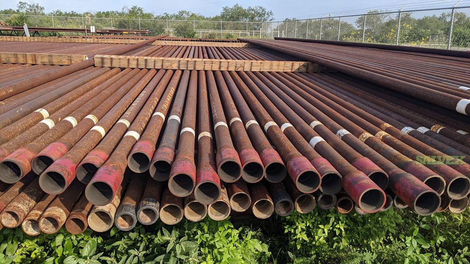 1 1/2 - 4 L80 EUE R2 Used Tubing (49,410 Feet / 153 Metric Tons)