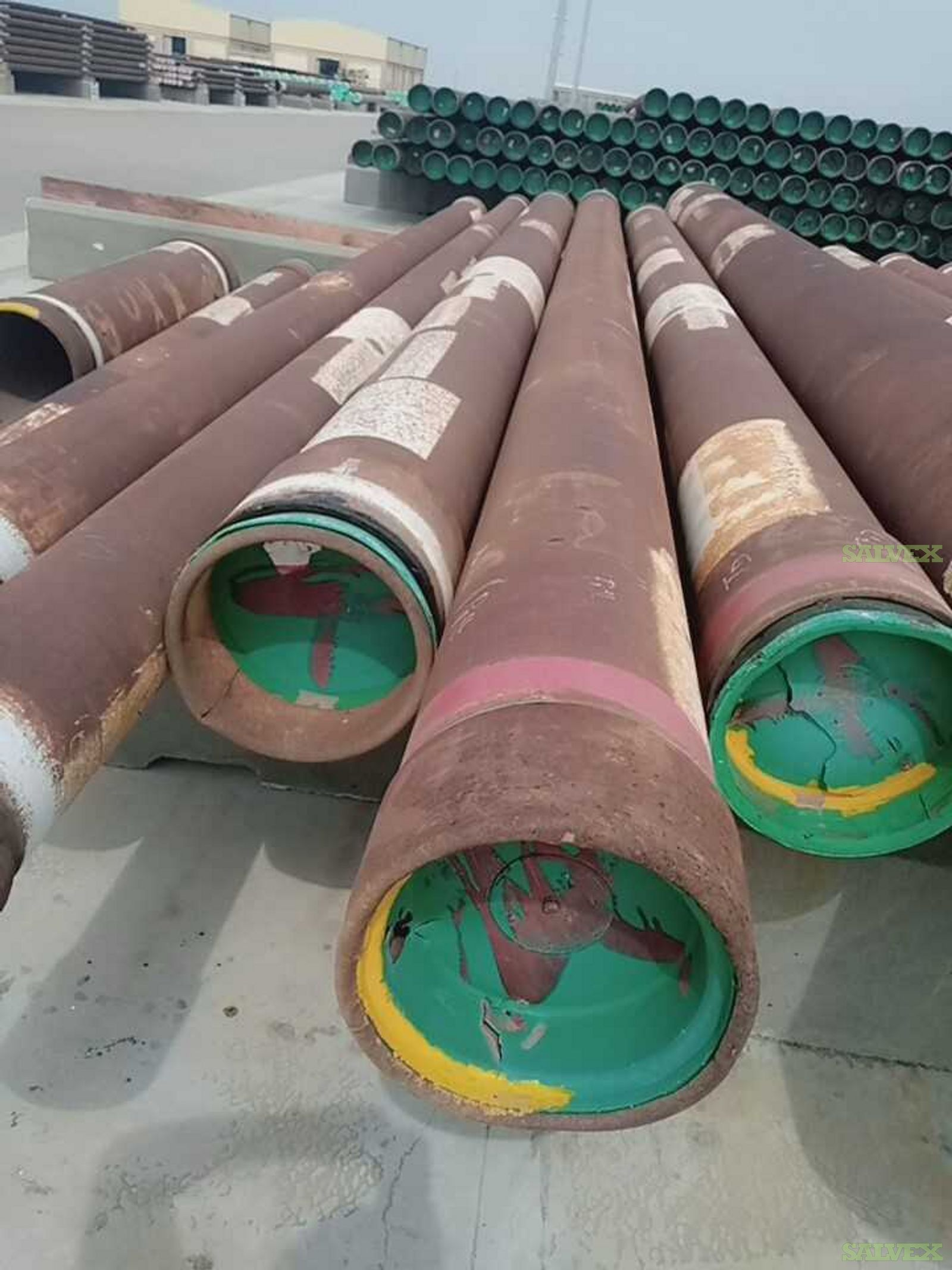 3 1/2 to 30 Pipe - Combined  Lot (12890 FT / 299.38 MT/ 383 Joints )