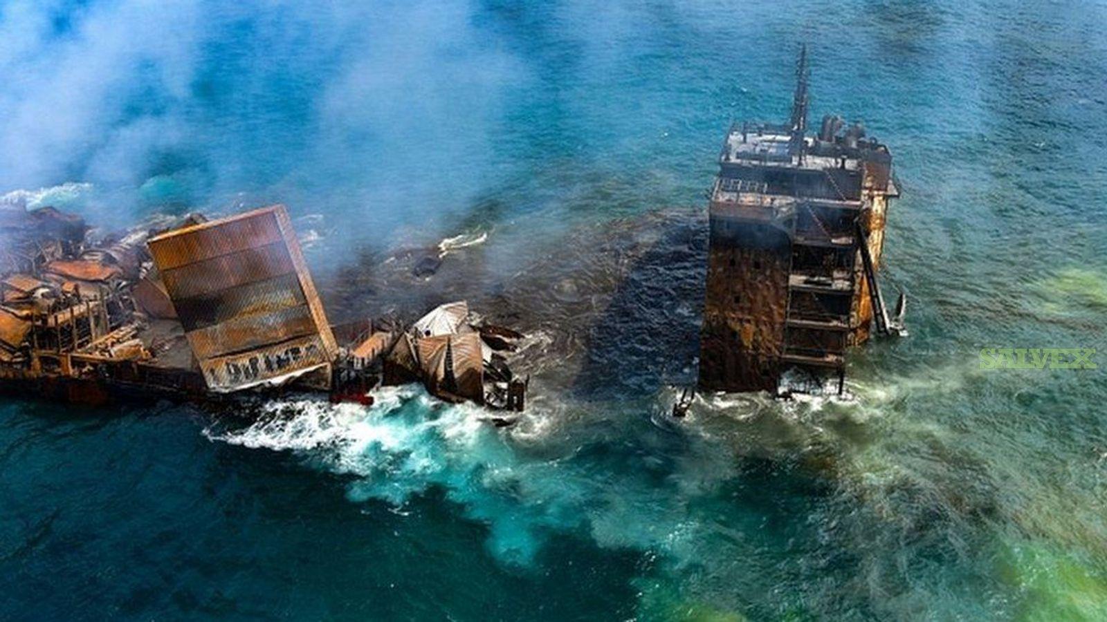 Singapore-Registered Super Eco 2700-Class Container Ship- Fire Damaged (1 Unit)