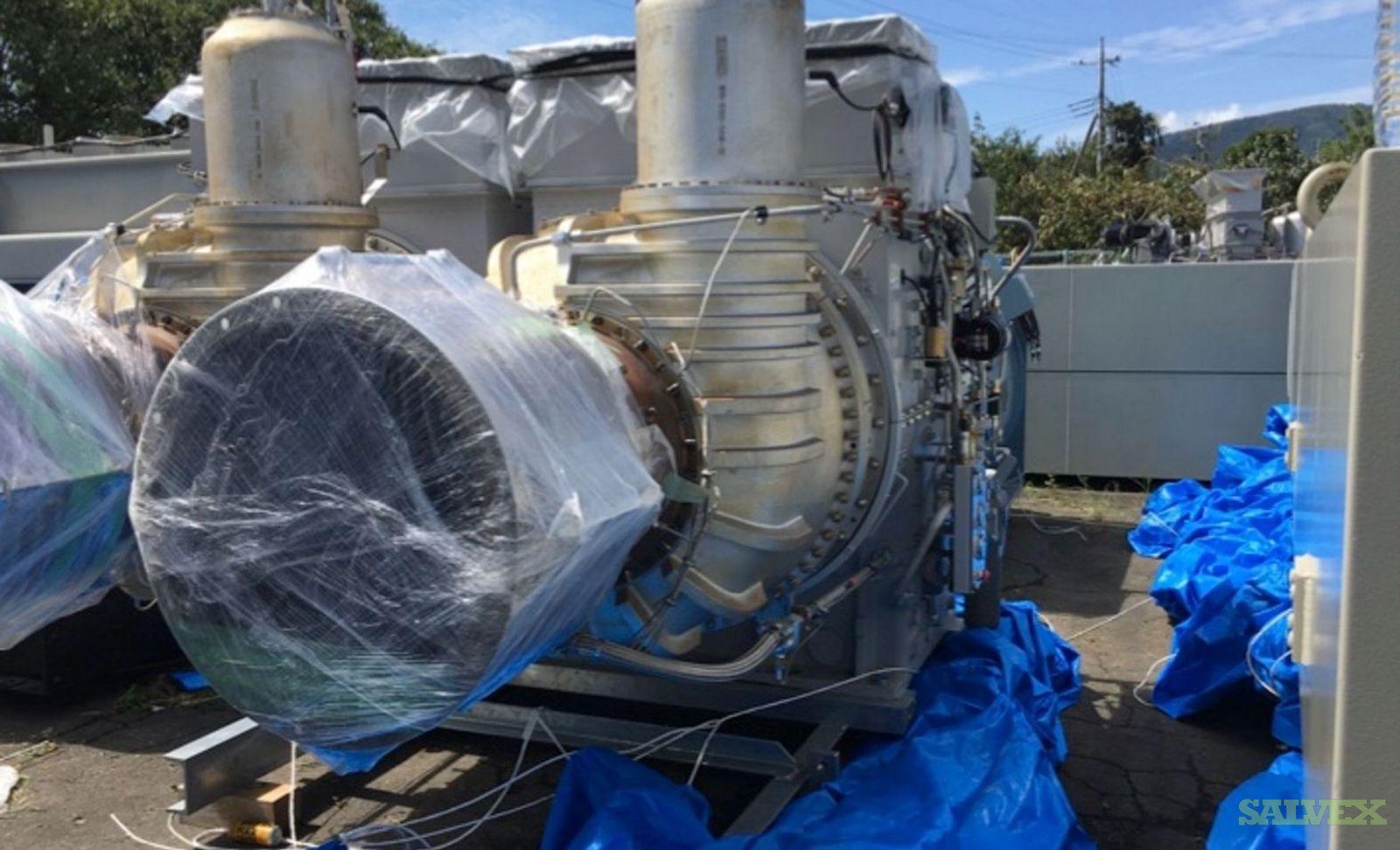 12.9MW Kawasaki HFO/LNG Gas Turbine Plant (Complete Plant)