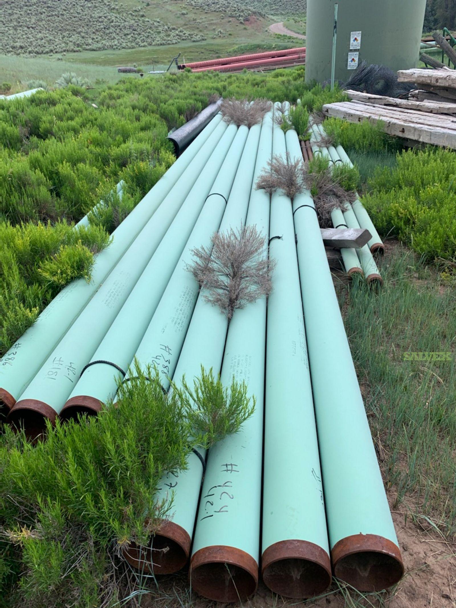 6 -16 FBE TRL Surplus Line Pipe (2,610 Feet / 35 Metric Tons)