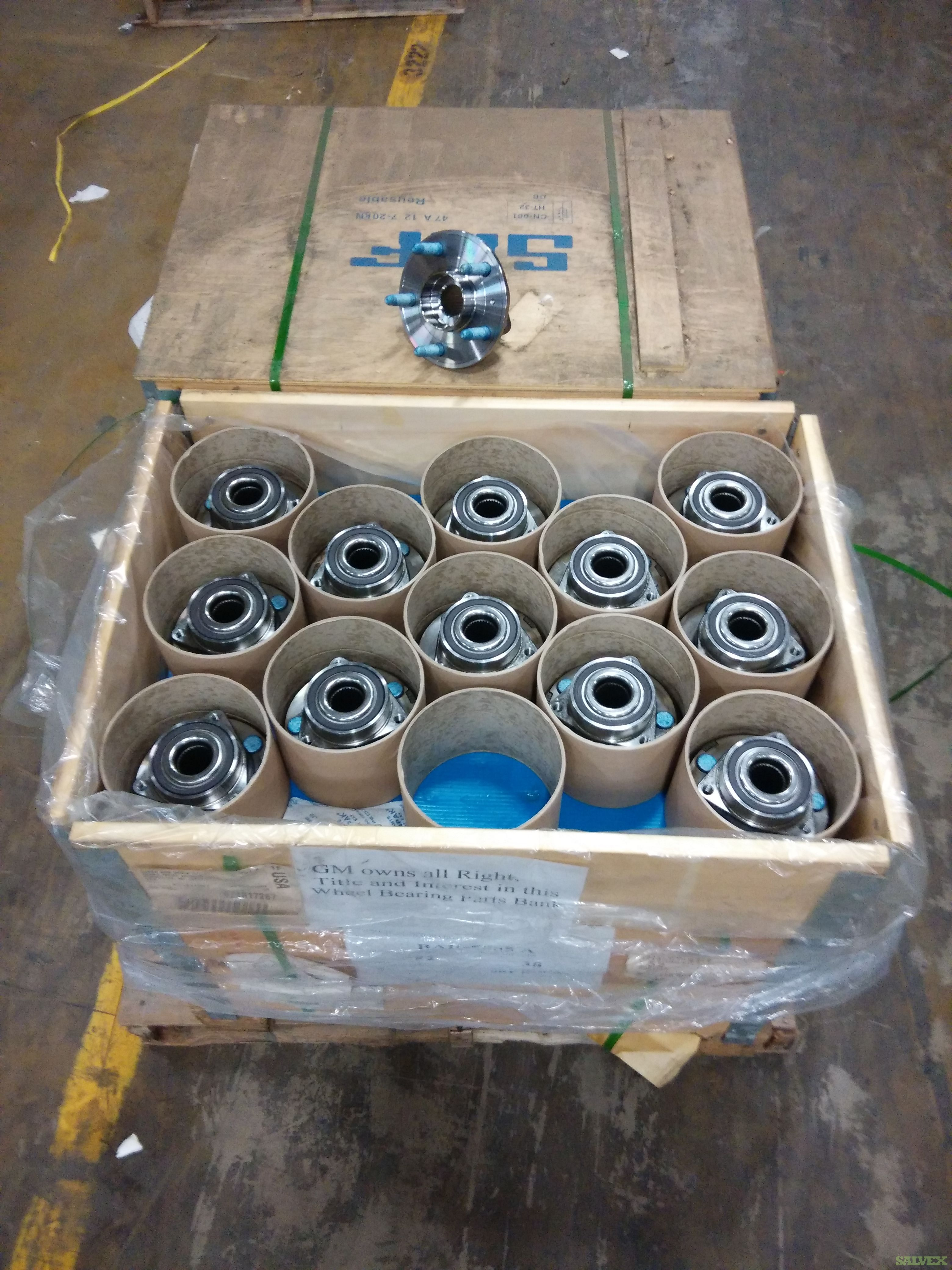 GM Wheel Bearing & Hub Assembly
