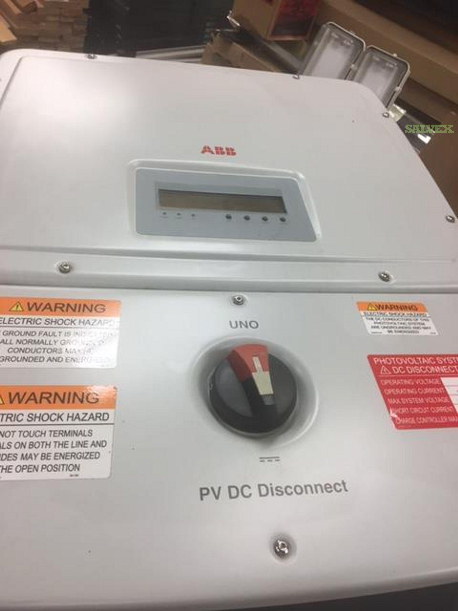 ABB; SMA; Solectria Solar Inverters (21 Units)