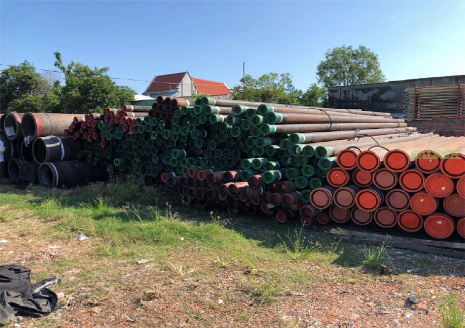 5- 20 Surplus Casing & Line Pipe (603 Metric Tons)