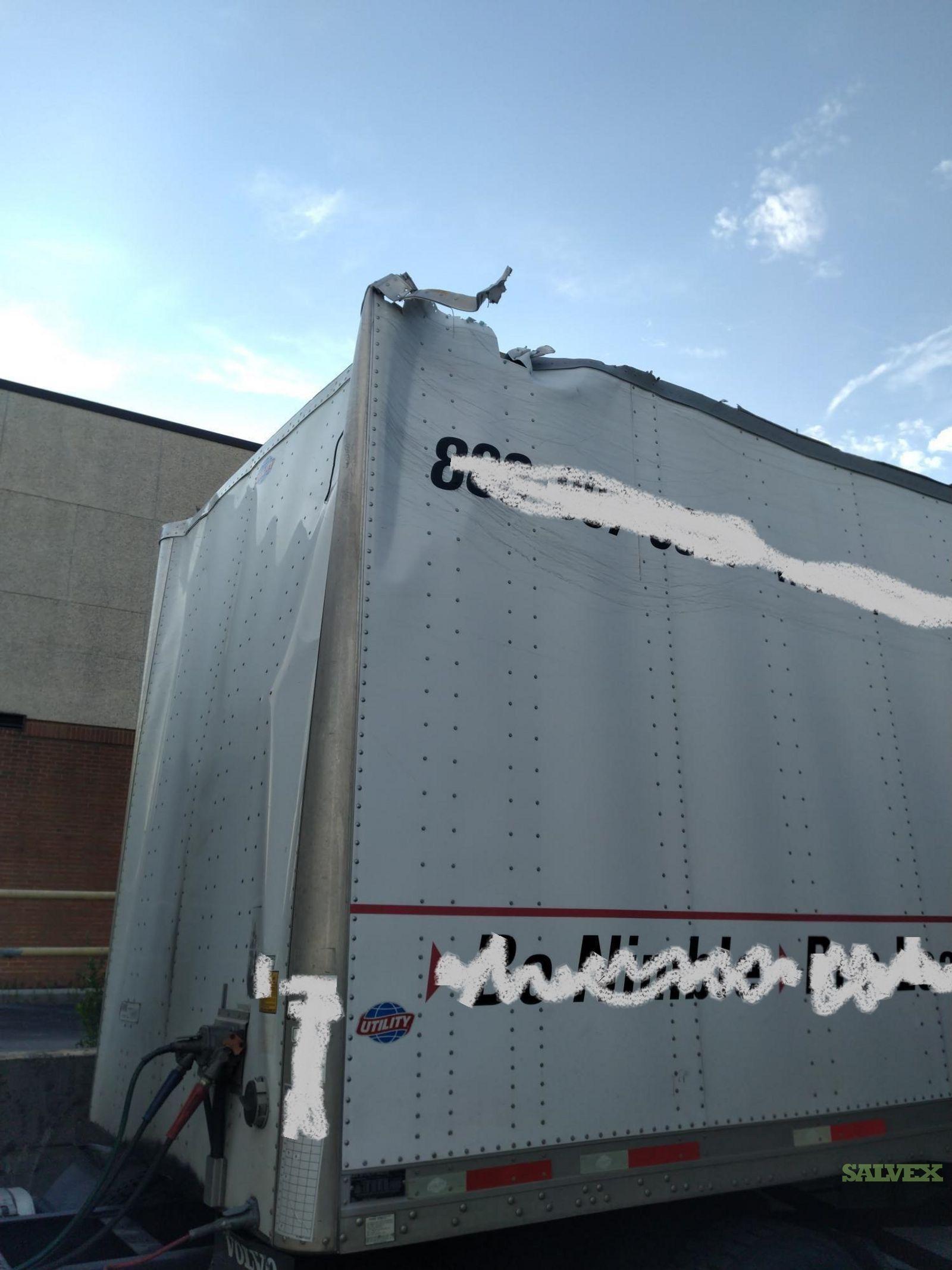 Utility VS1DC 28/162/102 Dry Trailer 2012
