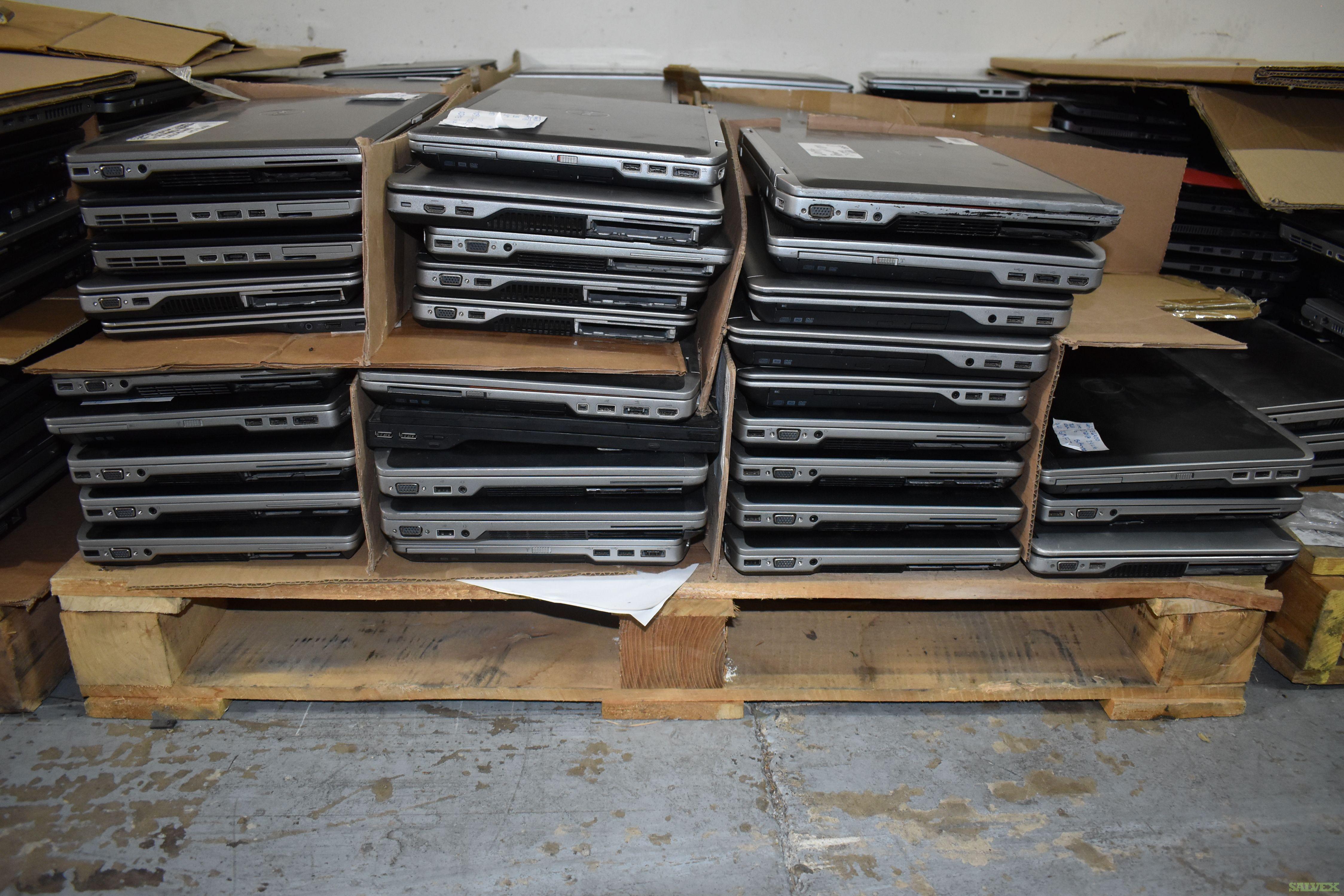 HP Laptops & Dell Latitude Laptops (332 Units)