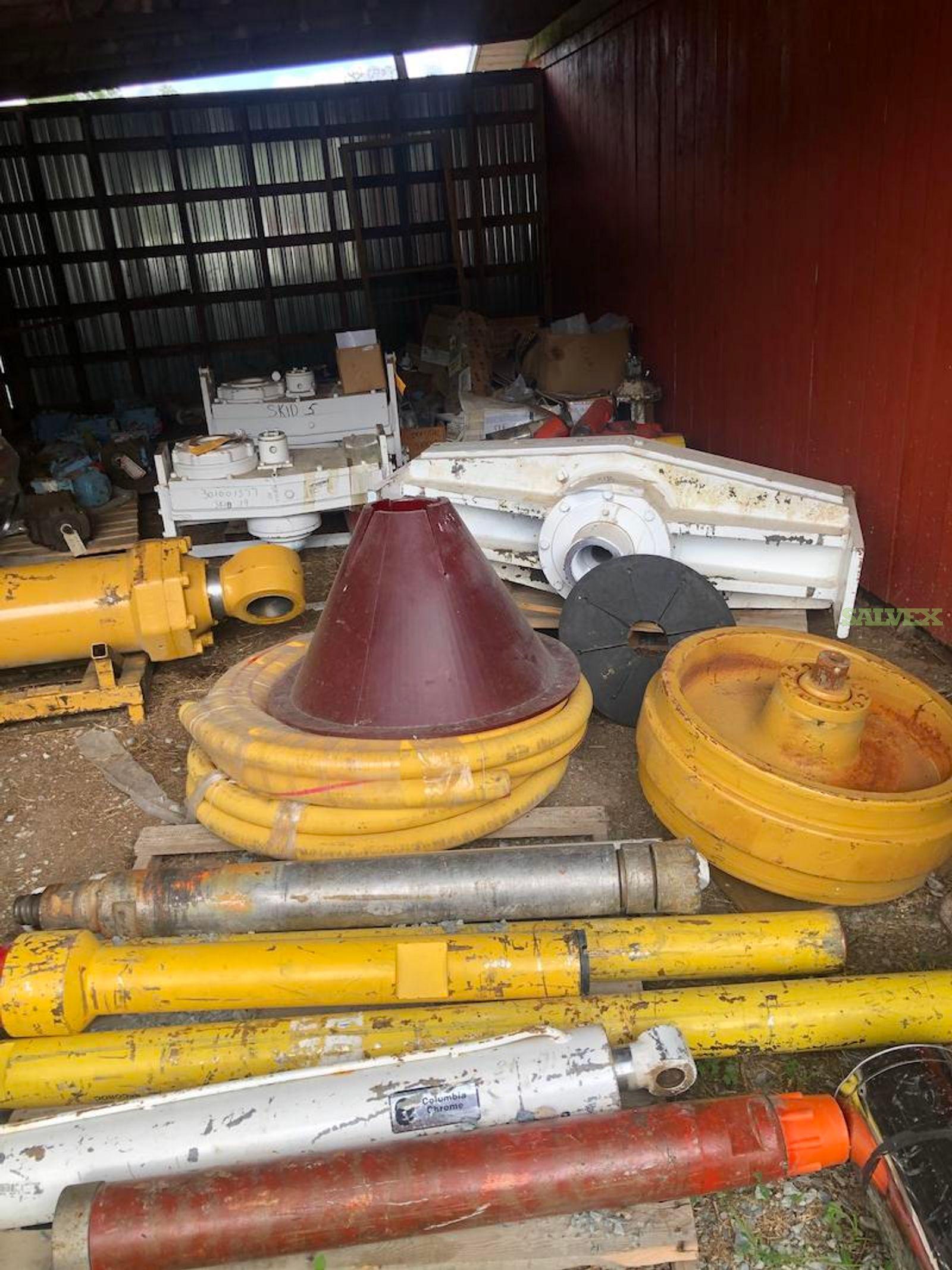 Sandvik 90/45 Components (Gear Boxes,  Bushings, Pumps, Motors)