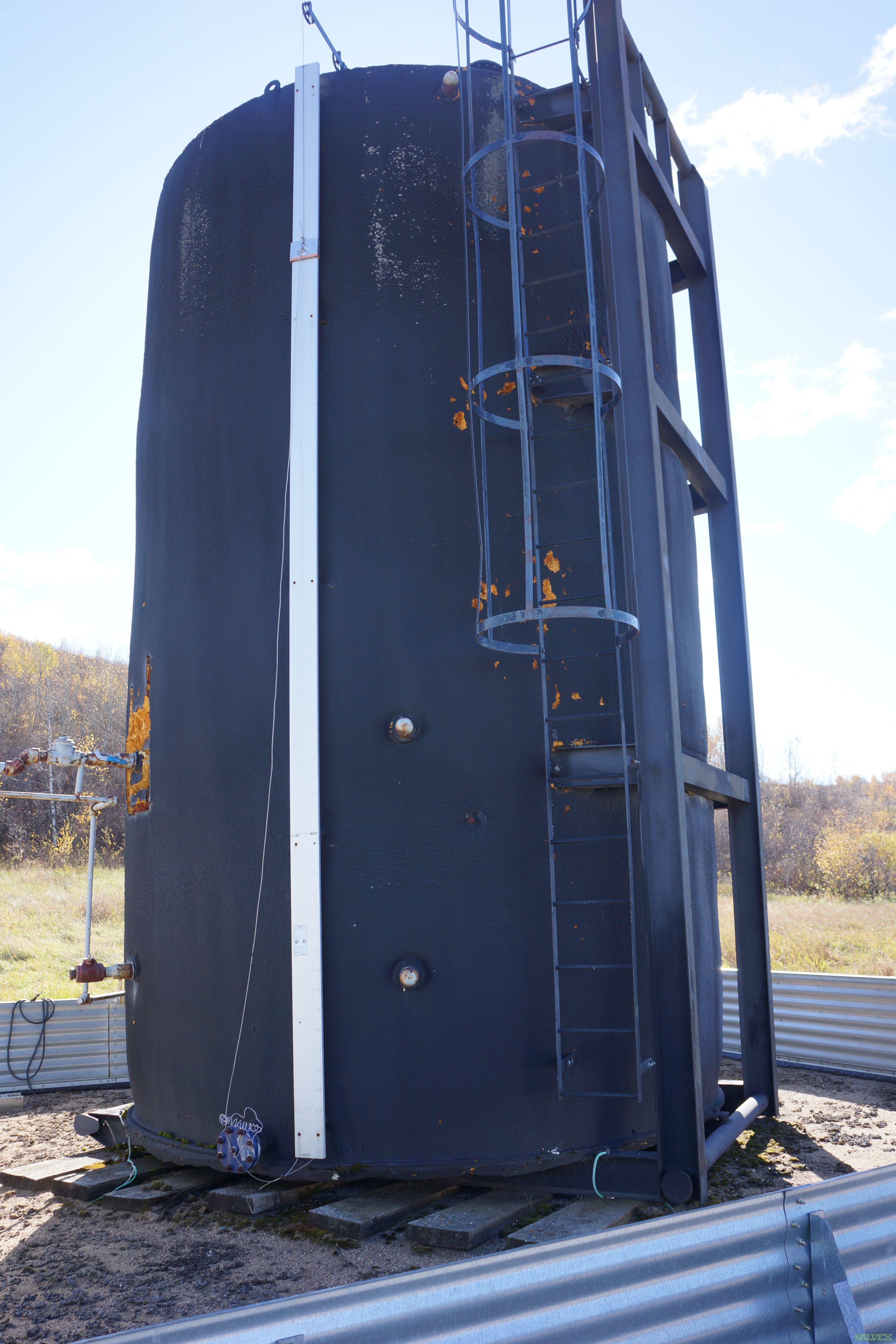 2002 GLM Industries 400 bbl Coated Storage Tank WATER