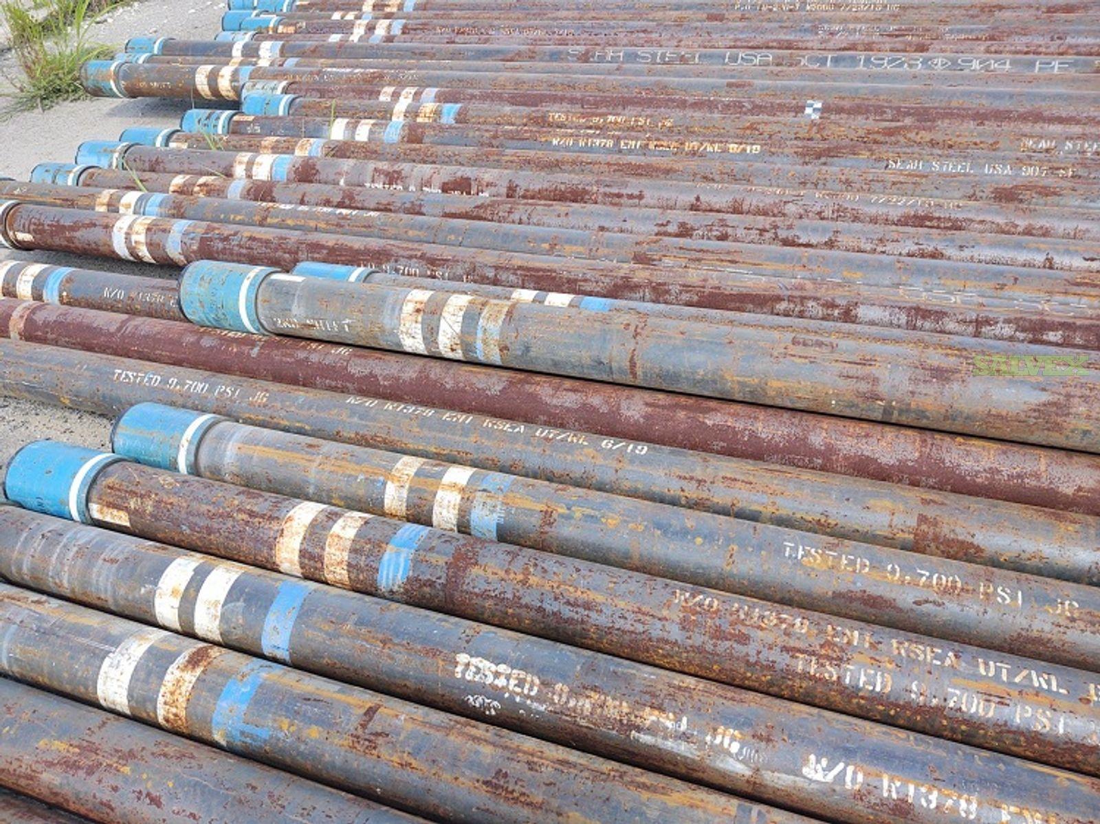 5 1/2 17# P110 LTC SMLS R3 Surplus Casing (2,600 Feet / 20 Metric Tons)