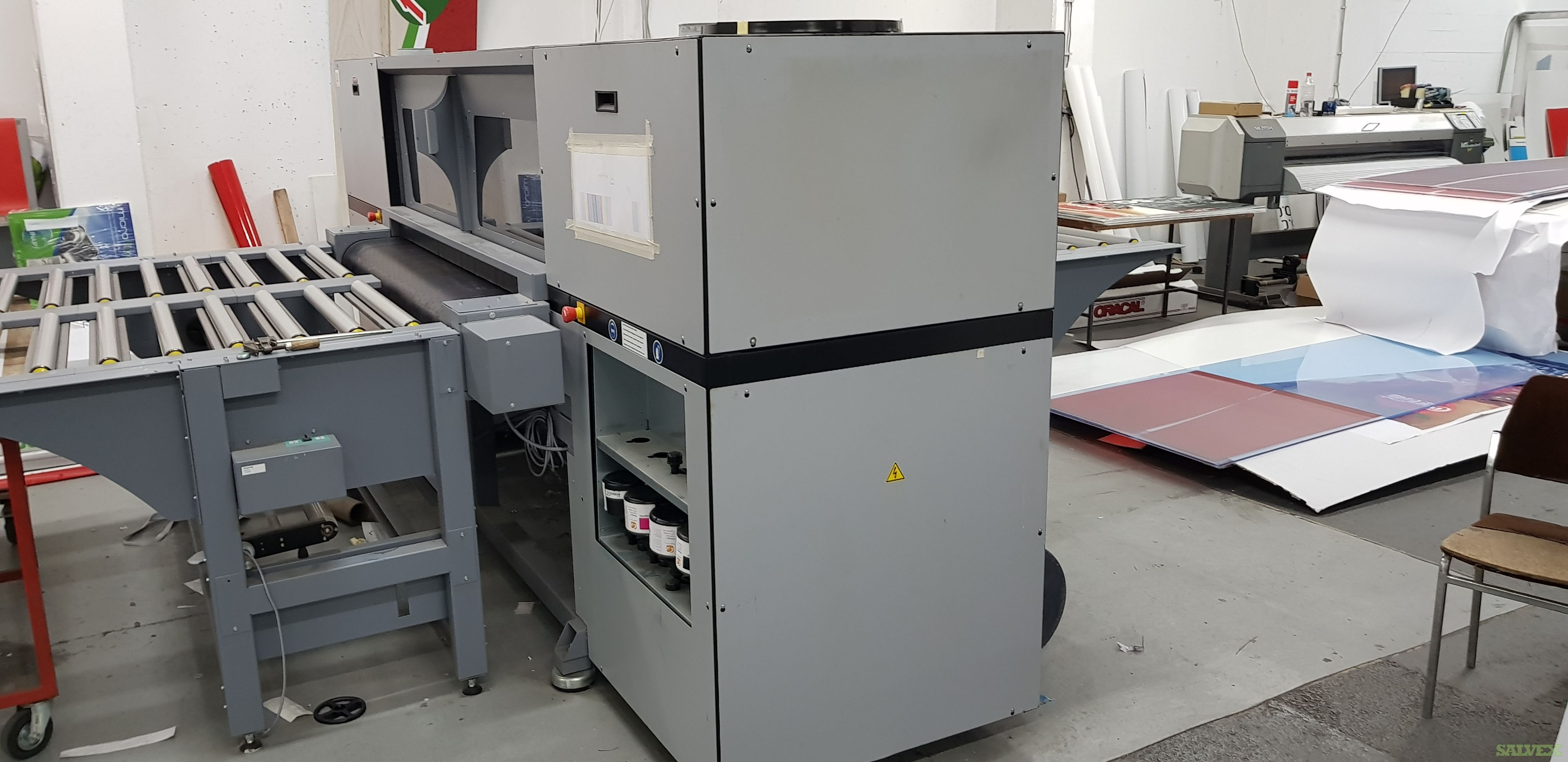 Durst Omega I Large Format Printers and Banner Welding Machine 2013 (3 Units)