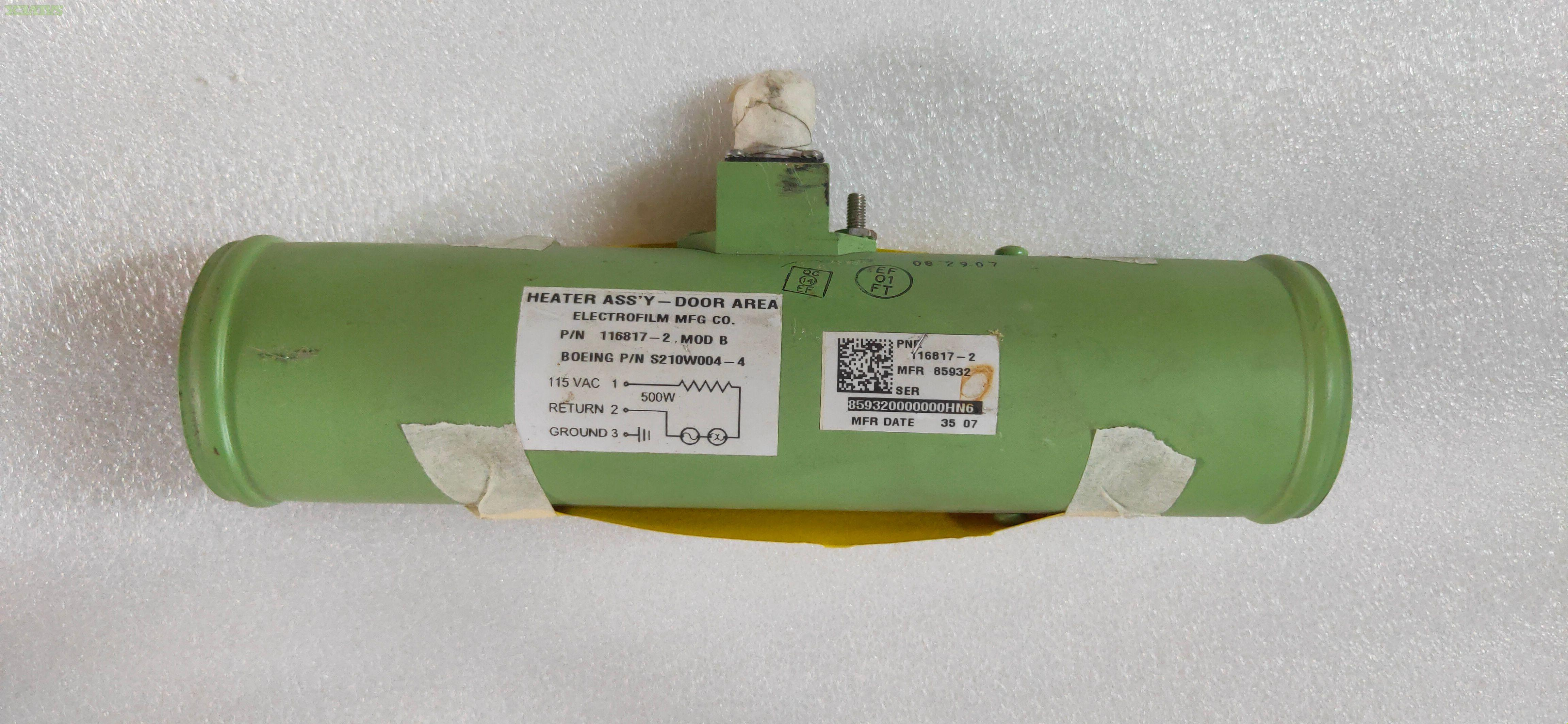 B777 Inventory Items in AR Condition, Duct Assy, Clamps etc. (843 Items)