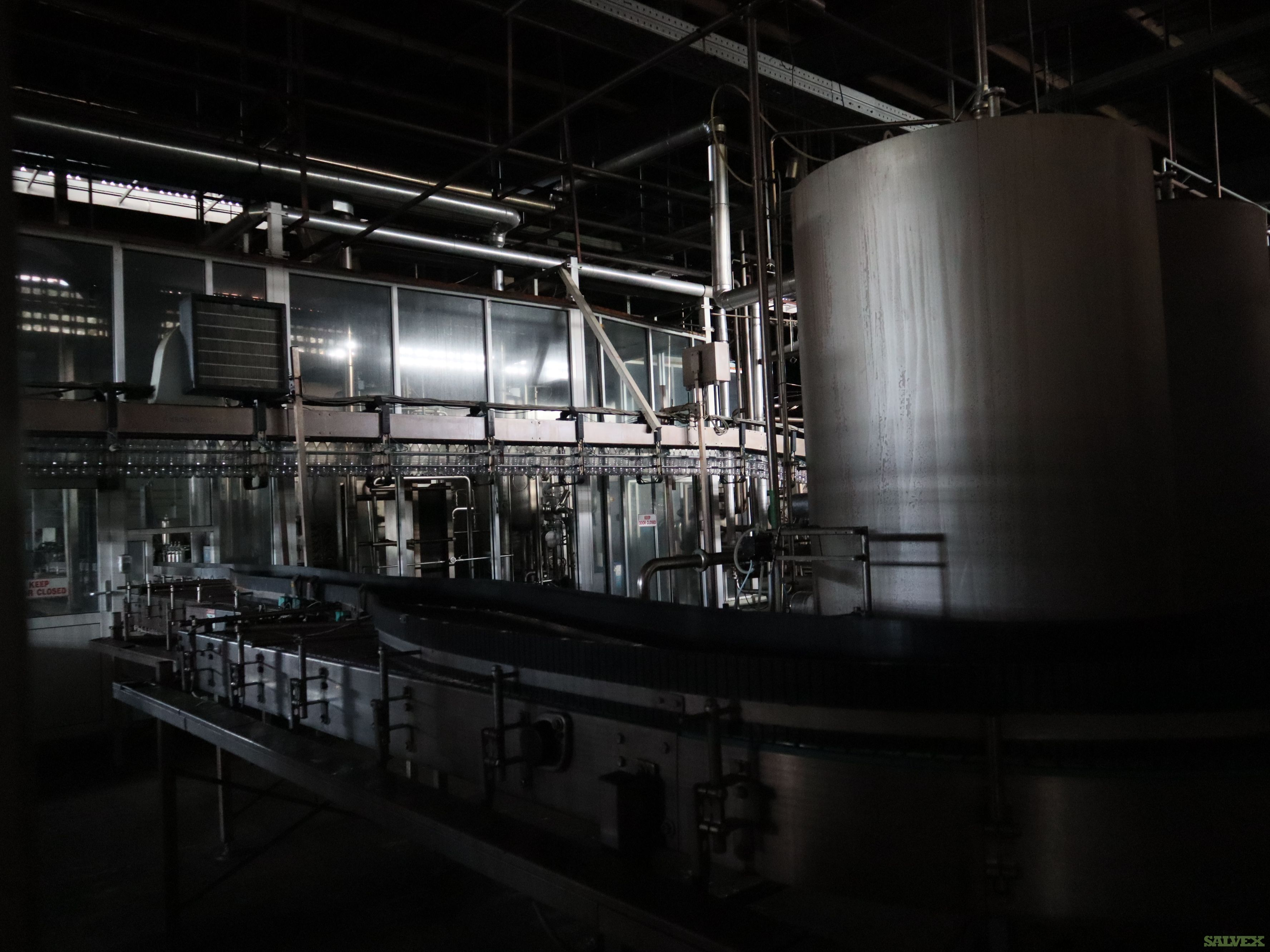 Krones Bottling Lines and Related Utilities - Damaged (2 units)