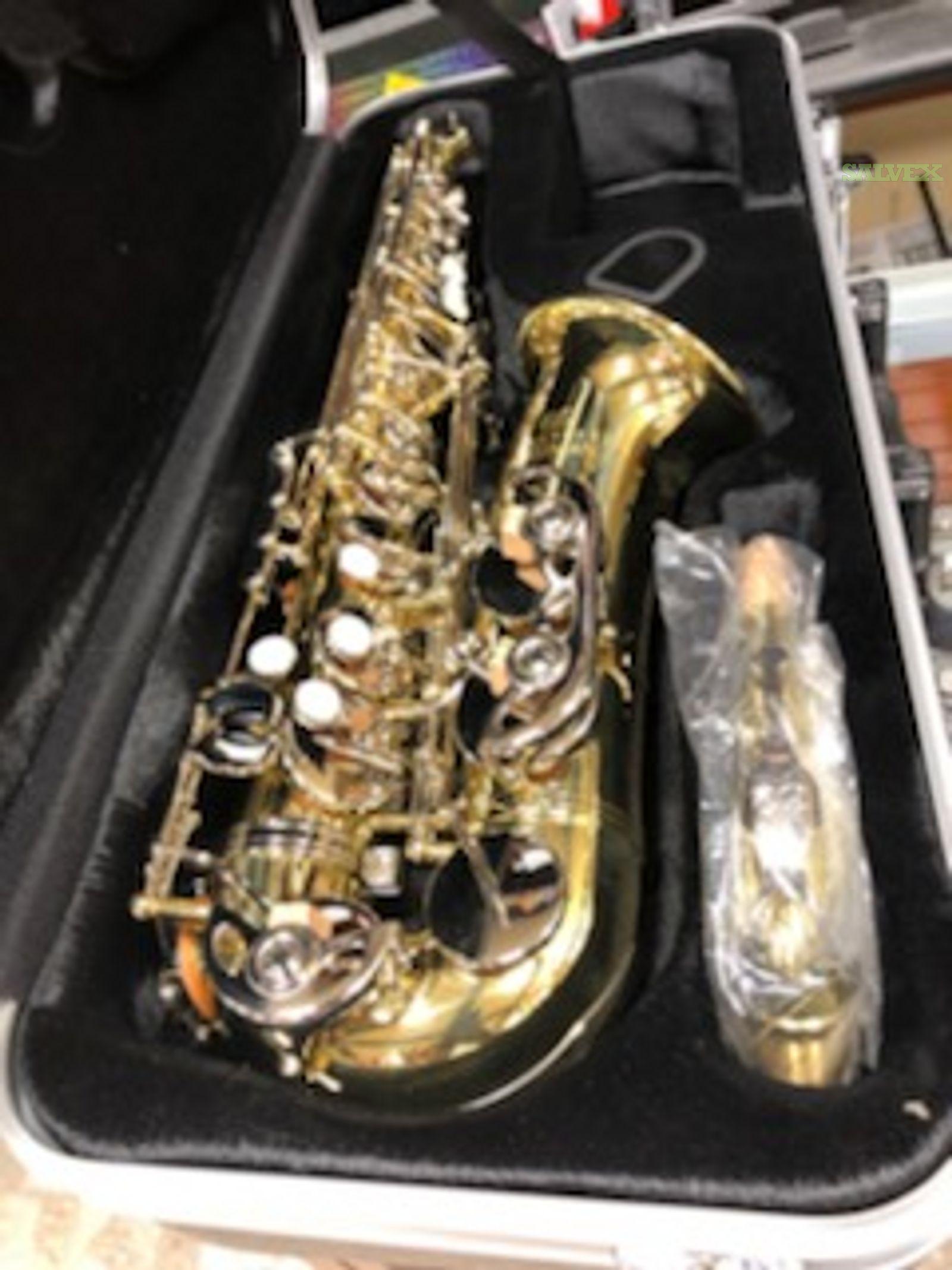 Musical Instruments: Andreas Eastman Saxophone, Haynes Amadeus  Flute, S.E. Shires Trombone, Euphonium, Trumpets in California (12 Pieces)