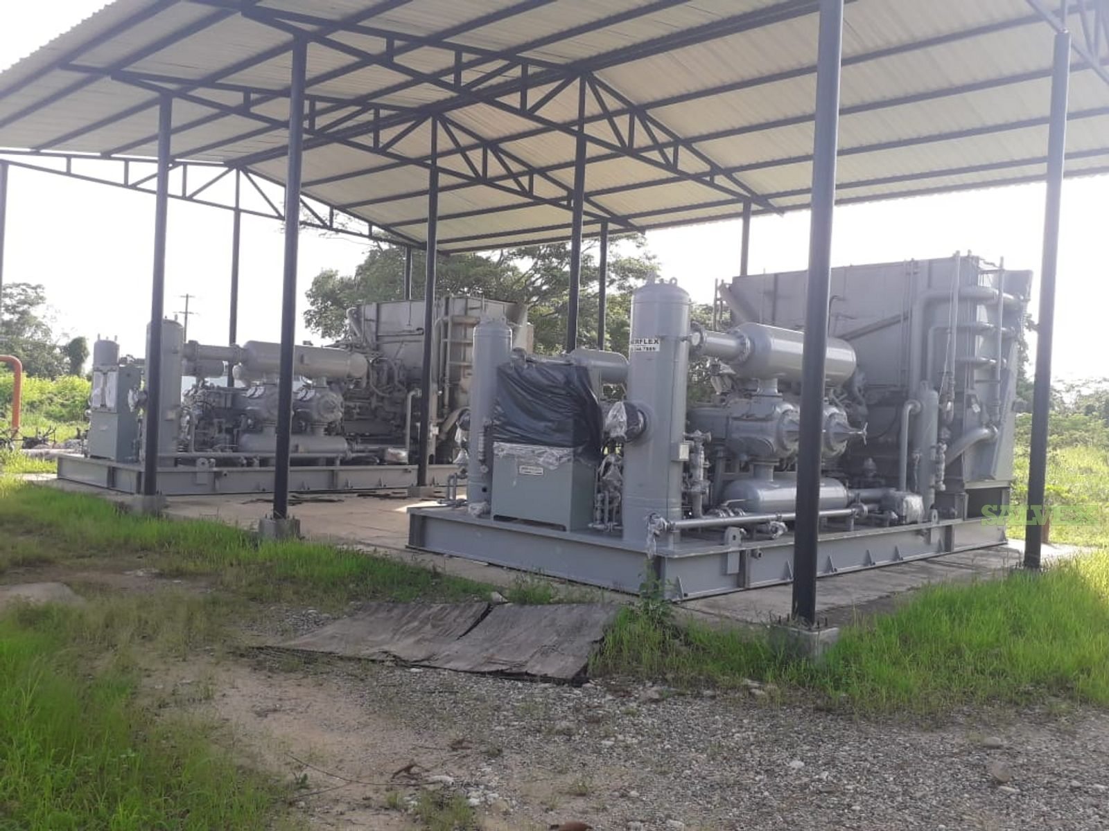 Reciprocating Compression Unit (Ariel Heavy Duty Balanced Opposed Compressors)