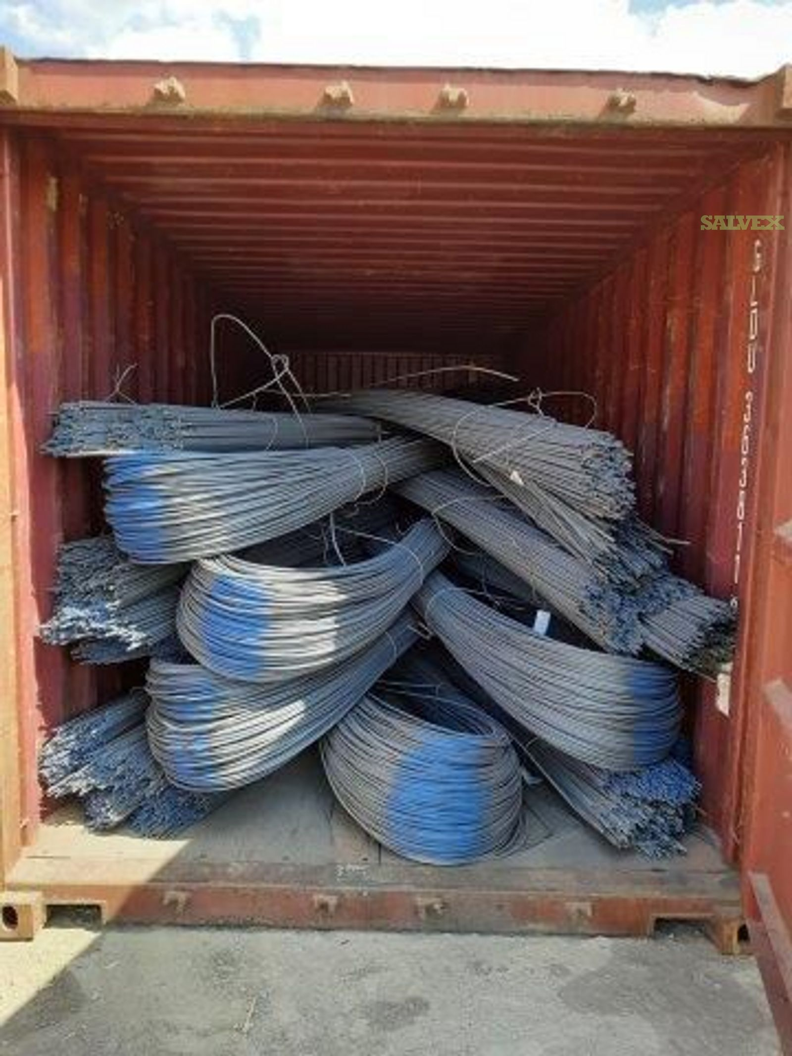 Rebar / Reinforcing Deformed Steel Bars (23 x 40' Containers / 644 Tons)