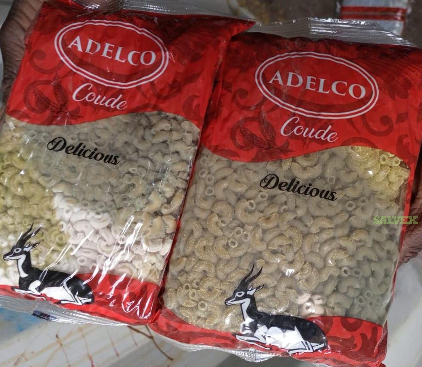 Pasta: Wet Damaged/Molded (41,100 Kg / in 10 Kg Packages)