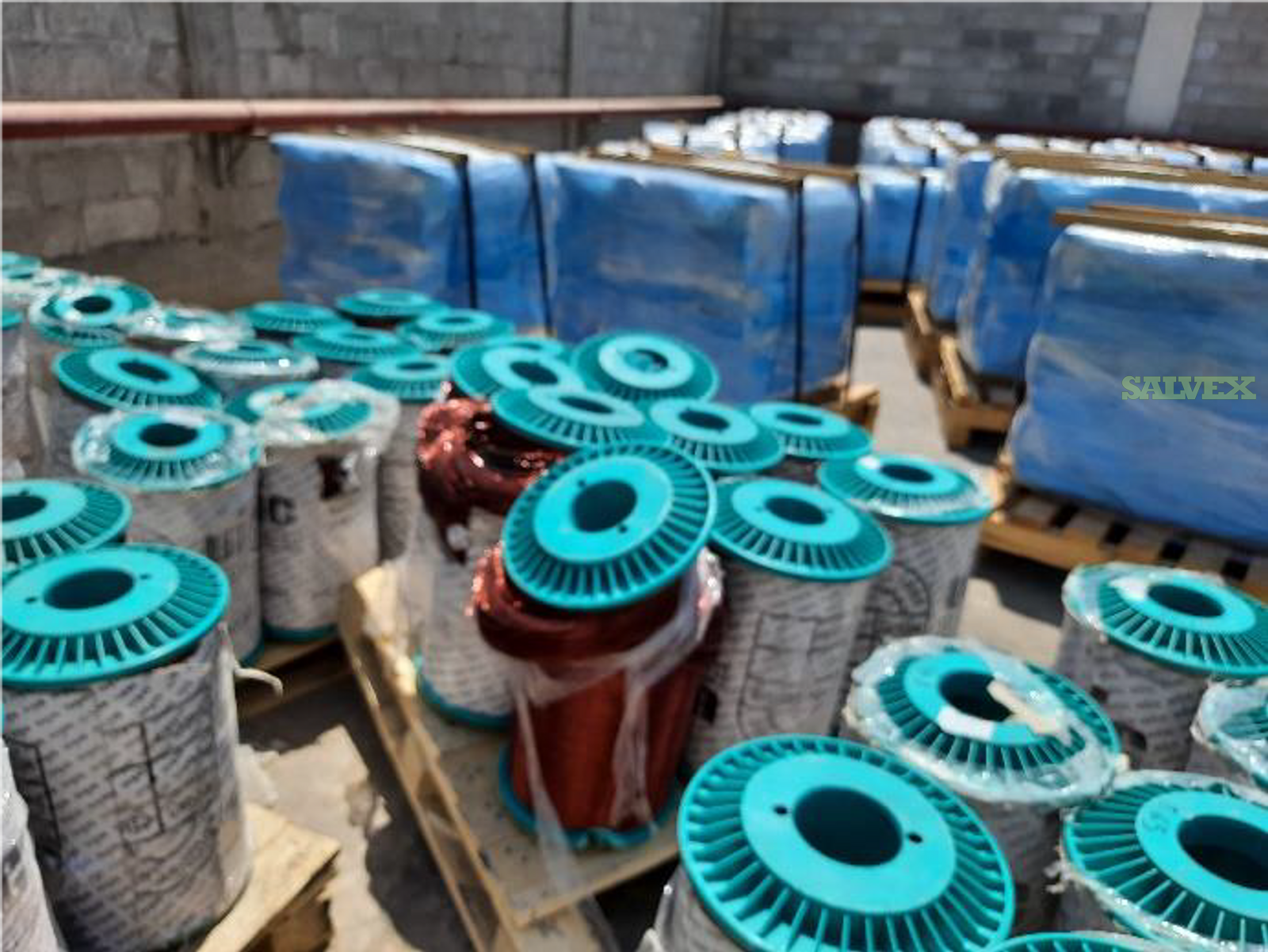 Copper Coils (Round & Flat) and Polyester Imide (12.06 Tons Material)