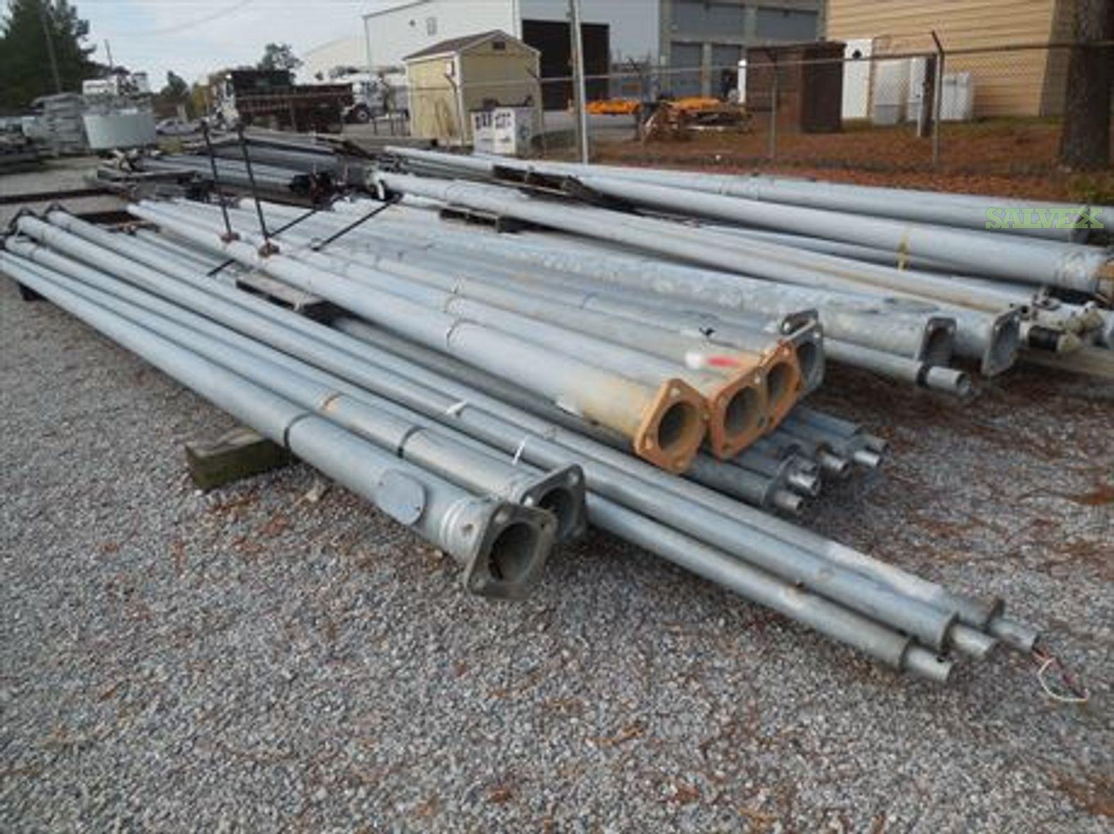 Miscellaneous Steel & Fiberglass Poles- 20 ft. and 30 ft. Lengths